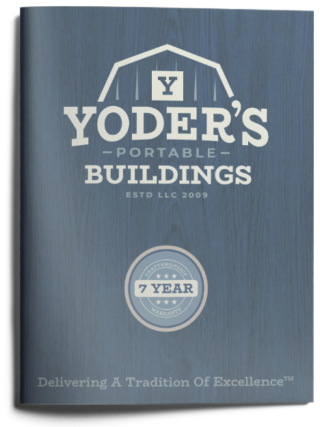 Yoder's Portable Buildings Brochure Cover