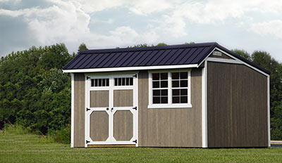 Yoder's Portable Buildings Cottage Shed