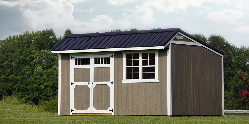 Cottage Shed Urethane - Yoder's Portable Buildings Indiana
