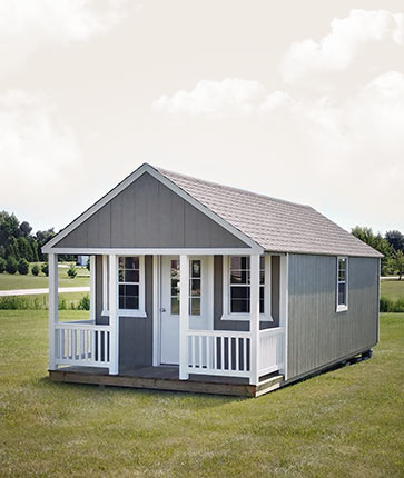 Custom Wooded - Yoder's Portable Buildings Indiana
