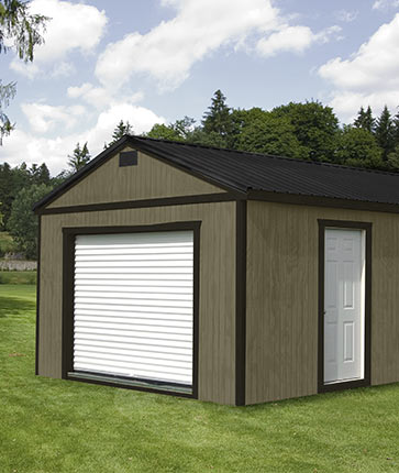 Garage Painted - Yoder's Portable Buildings Indiana