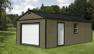 Yoder's Portable Buildings Garage