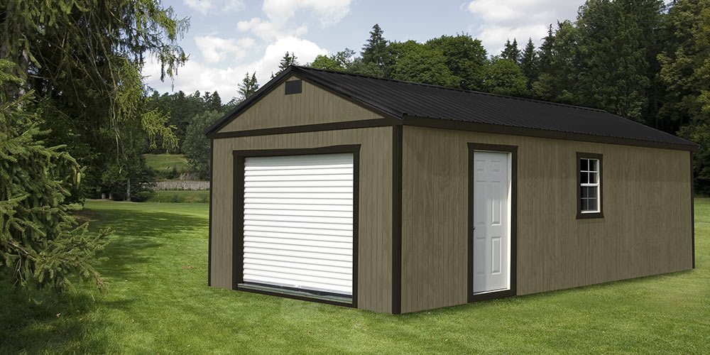Garage Wooden - Yoder's Portable Buildings Indiana