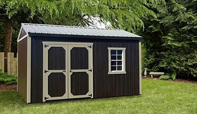 Yoder's Portable Buildings Garden Shed
