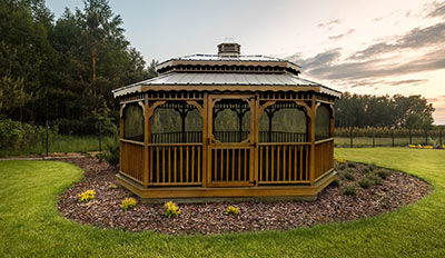 Yoder's Portable Buildings Gazebo