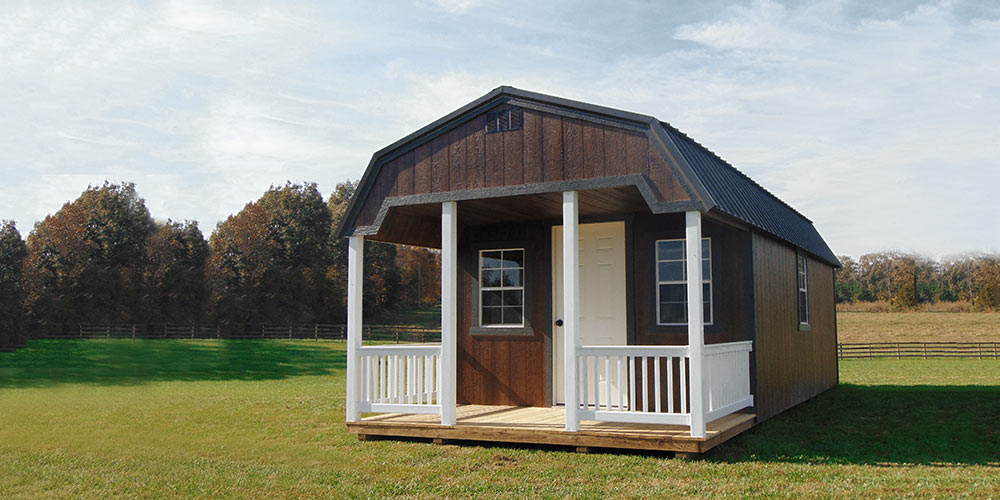 Lofted Cabin Urethane - Yoder's Portable Buildings Indiana