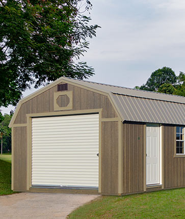 Lofted Garage Urethane - Yoder's Portable Buildings Indiana