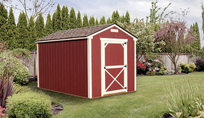 Yoder's Portable Buildings Utility Shed