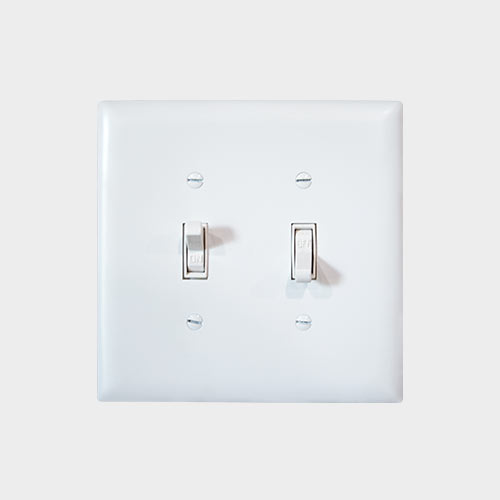 Light Switch & Cover - Yoder's Portable Buildings