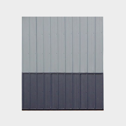 Metal Wainscot - Yoder's Portable Buildings