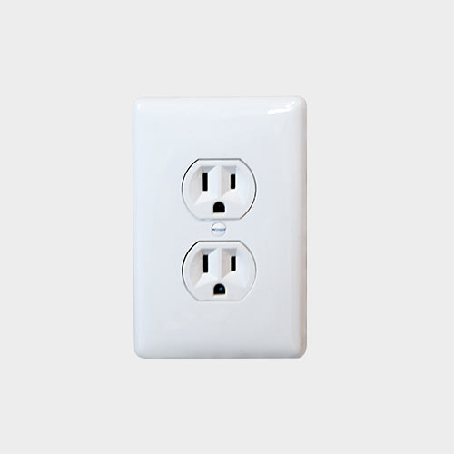 Wall Outlet & Cover - Yoder's Portable Buildings