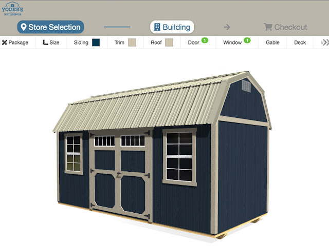 3D Shed Builder Image